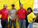 Camiseta Gigante de Ecuador visitó Ibarra