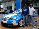 Presentación del Chevrolet Cruze WTCC en Imbauto