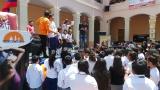 Cierre de campaña Lista 2 Colegio Sánchez y Cifuentes