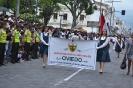 Desfile Cívico Estudiantil El Retorno 140 años
