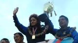 Bienvenida a Glenda Morejón Campeona de Marcha