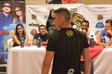 Rueda de Prensa Jaguar Race Ec en Laguna Mall