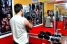 Seminario de físicoculturismo en Flex gym